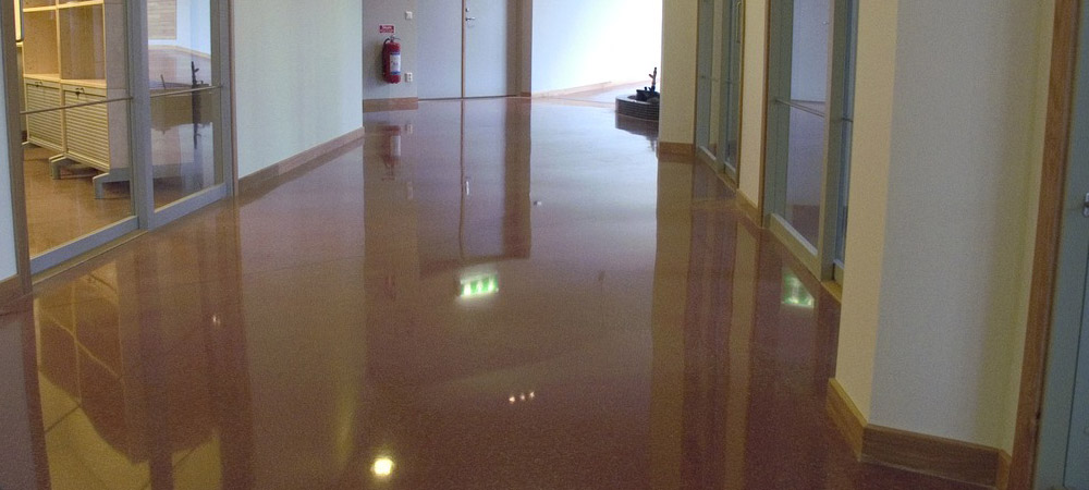 polished concrete floor south east